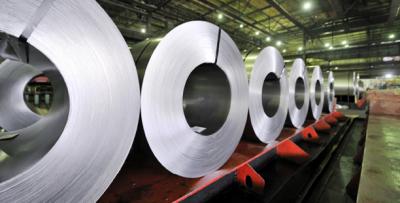 Rolls of aluminum