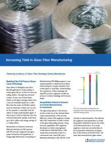 Rolls of glass fiber