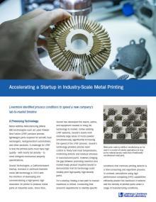 Metal printing sample
